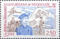 [The 230th Anniversary of Resettlement by French of Miquelon, Typ KY]