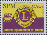 [The 50th Anniversary of Lions Club, Typ SX]