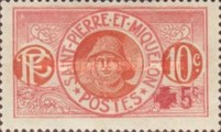 [Fisherman - Red Cross Surcharge on Stamps of 1909-1917, type T]