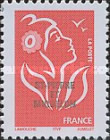 [Stamps from France Issues of 2005 Overprinted