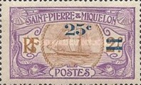 [Stamps of 1909 in New Colors & Surcharged New Value, Typ U1]