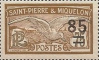 [Stamps of 1909 in New Colors & Surcharged New Value, Typ U4]