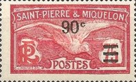[Stamps of 1909 in New Colors & Surcharged New Value, type U5]