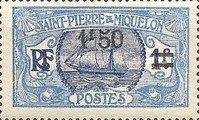 [Stamps of 1909 in New Colors & Surcharged New Value, Typ U7]