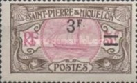 [Stamps of 1909 in New Colors & Surcharged New Value, Typ U8]