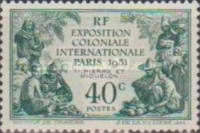 [International Colonial Exhibition, Paris, Key-types inscribed
