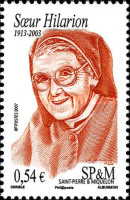 [The 4th Anniversary of the Death of Sister Hilarion, 1913-2003, Typ VI]