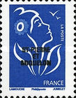 [French Postage Stamps Overprinted, Typ WN]