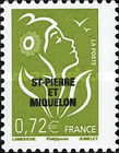 [French Postage Stamps Overprinted, Typ WN1]