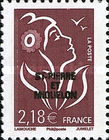 [French Postage Stamps Overprinted, Typ WN5]