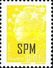 [French Postage Stamps Overprinted, Typ WX]