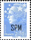 [Marianne - French Postage Stamps Overprinted, type XC11]