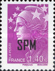 [Marianne - French Postage Stamps Overprinted, type XC19]