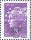 [Marianne - French Postage Stamps Overprinted, Typ XC22]