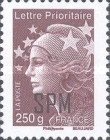 [Marianne - French Postage Stamps Overprinted, Typ XC26]
