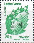 [Marianne - French Postage Stamps Overprinted, Typ ZV]