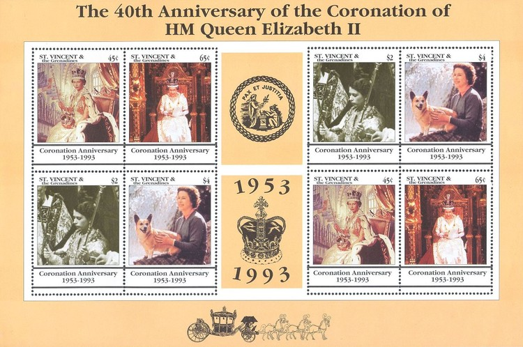 [The 40th Anniversary of the Coronation of Queen Elizabeth II, Typ ]