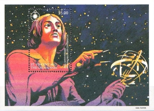 [The 450th Anniversary of the Death of Copernicus, Typ ]