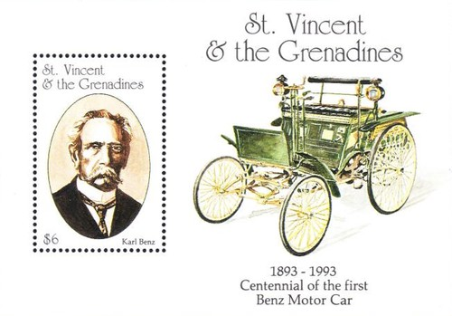 [The 100th Anniversary of the Benz Motor Cars (1886) and the 100th Anniversary of the First Ford Motor (1892), Typ ]