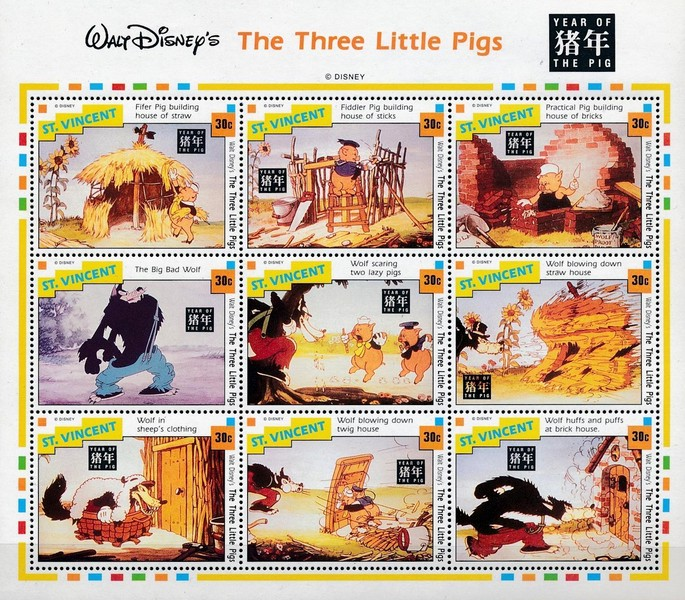 [Disney - Chinese New Year - Year of the Pig, type ]