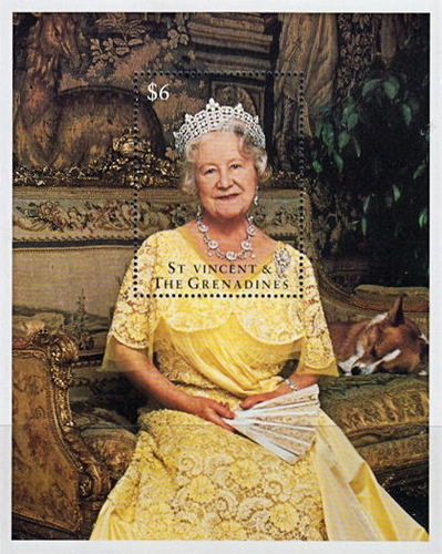 [The 95th Anniversary of the Birth of HRM Queen Elizabeth The Queen Mother, 1900-2002, type ]