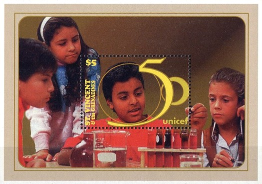 [The 50th Anniversary of UNICEF, Typ ]