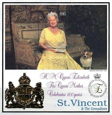[The 100th Anniversary of the Birth of HRM Queen Elizabeth The Queen Mother, type ]