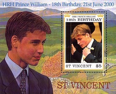 [The 18th Anniversary of the Birth of Prince William, type ]