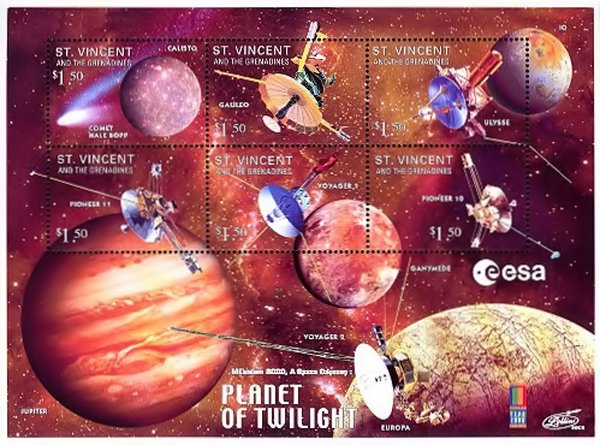 [International Philatelic Exhibition WORLD STAMP EXPO 2000, Anaheim, type ]