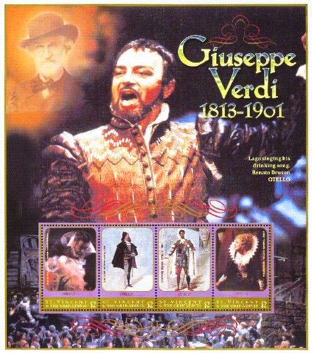 [The 100th Anniversary of the Death of Guiseppe Verdi, 1813-1901, Typ ]
