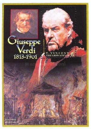 [The 100th Anniversary of the Death of Giuseppe Verdi, 1813-1901, Typ ]