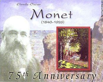 [The 75th Anniversary of the Death of Claude Monet, 1840-1926, Typ ]