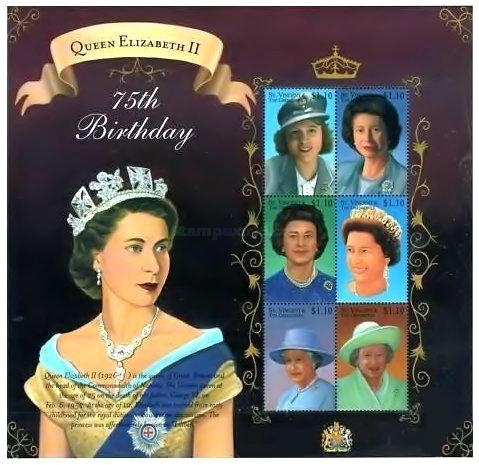 [The 75th Anniversary of the Birth of HRM The Queen Elizabeth, Typ ]