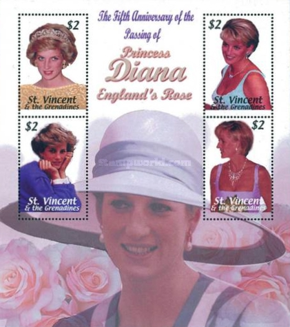 [The 5th Anniversary of the Death of Princess Diana, Typ ]