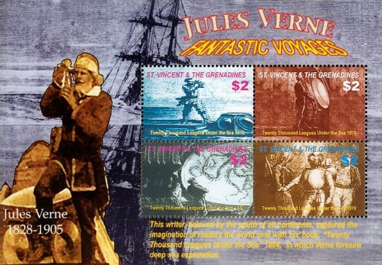 [The 100th Anniversary of the Death of Jules Verne, 1818-1905, Typ ]