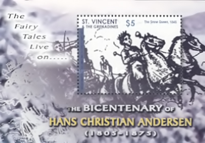 [The 200th Anniversary of the Birth of Hans Christian Andersen, 17805-1875, Typ ]