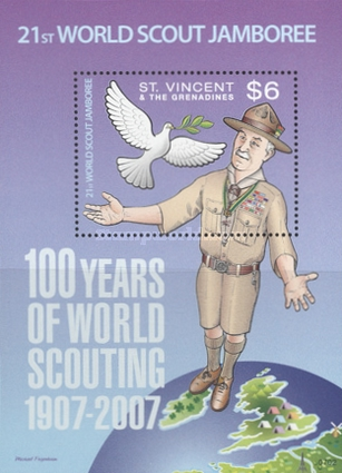 [The 100th Anniversary of Scouting, Typ ]