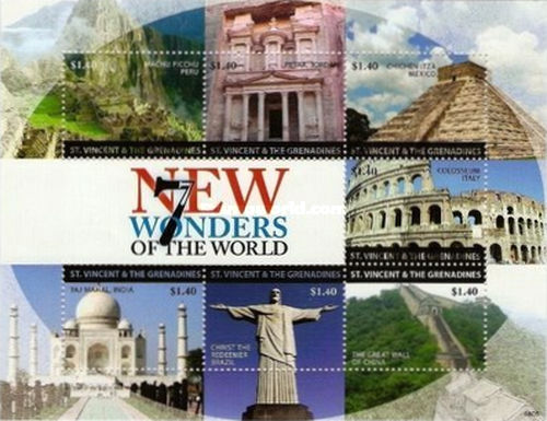 [The New 7 Wonders of the World, type ]