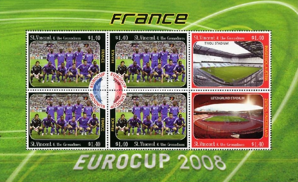 [Football - Eurocup 2008, France, type ]