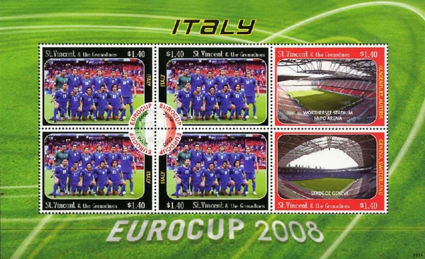[Football - Eurocup 2008, Italy, type ]