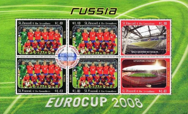 [Football - Eurocup 2008, Russia, type ]
