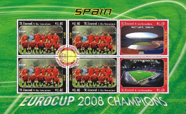 [Football - Eurocup 2008, Spain, type ]
