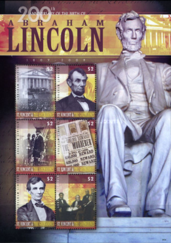 [The 200th Anniversary of the Birth of Abraham Lincoln, 1809-1865, Typ ]