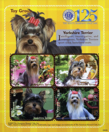 [Dogs - The 125th Anniversary of the American Kennel Club, type ]