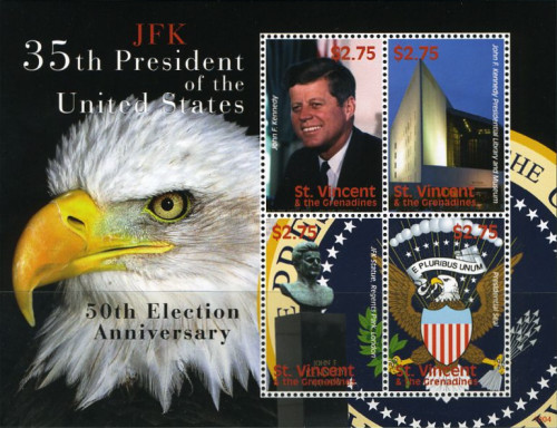 [The 50th Anniversary of the Election of J.F.Kennedy, 1917-1963, Typ ]