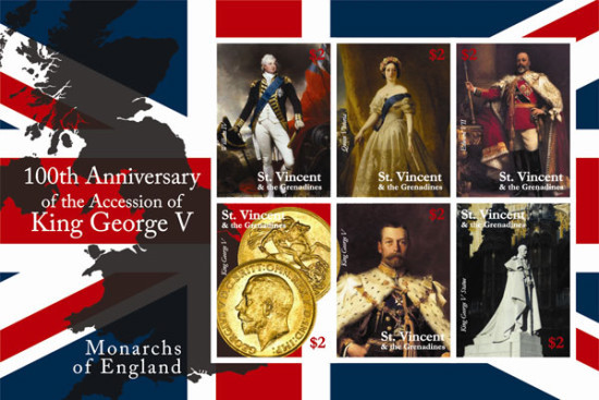 [The 100th Anniversary of the Coronation of King George V, Typ ]