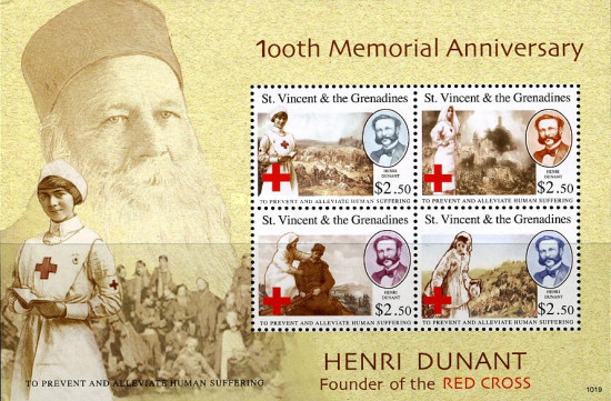 [The 100th Anniversary of the Death of Henry Dunant, 1818-1910, Typ ]
