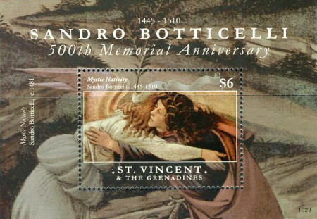 [Paintings - The 500th Anniversary of the Death of Sandro Botticelli, 1445-1510, Typ ]
