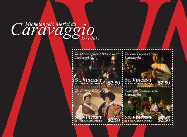 [Paintings by Caravaggio, 1571-1610, Typ ]