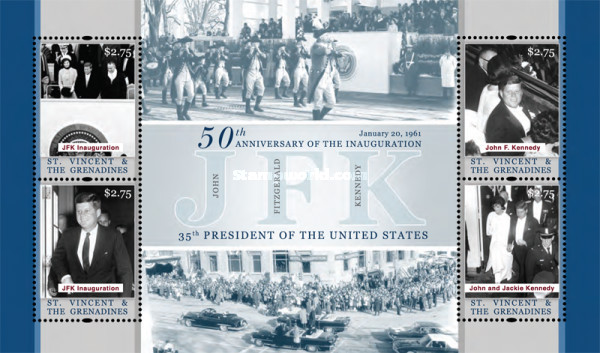 [The 50th Anniversary of the Inauguration of President John F. Kennedy, 1917-1963, Typ ]